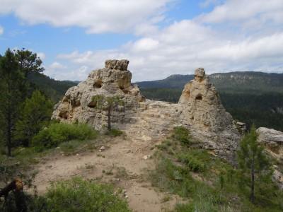 Sandstone ridge