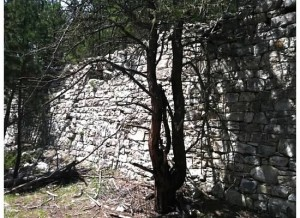 German mason Rock Wall