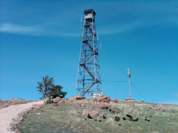 Elk Mt Firetower