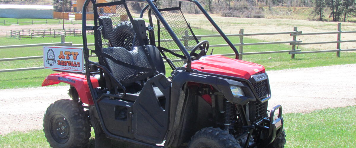 High Country Guest Ranch ATV Rentals